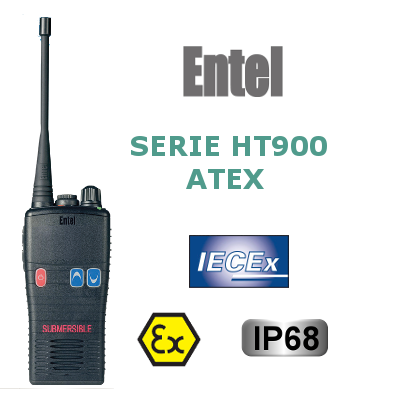 WALKIES ENTEL DE LA SERIE HT900 ATEX