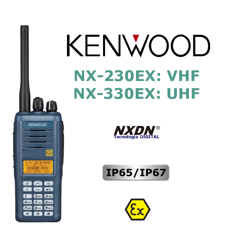 KENWOOD NX-230EX / NX-330EX