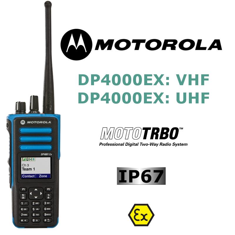 MOTOROLA SERIE DP4000EX