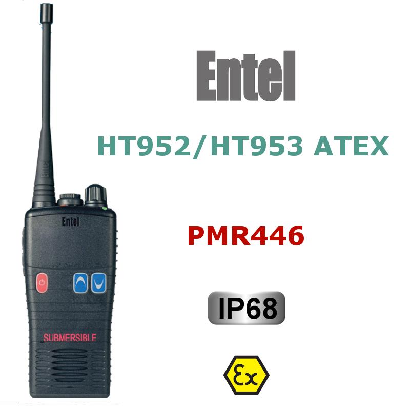 ENTEL HT952 y HT953 ATEX PMR446