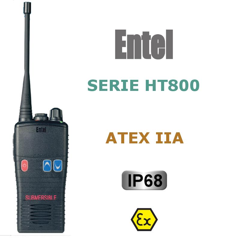 ENTEL SERIE HT800 ATEX