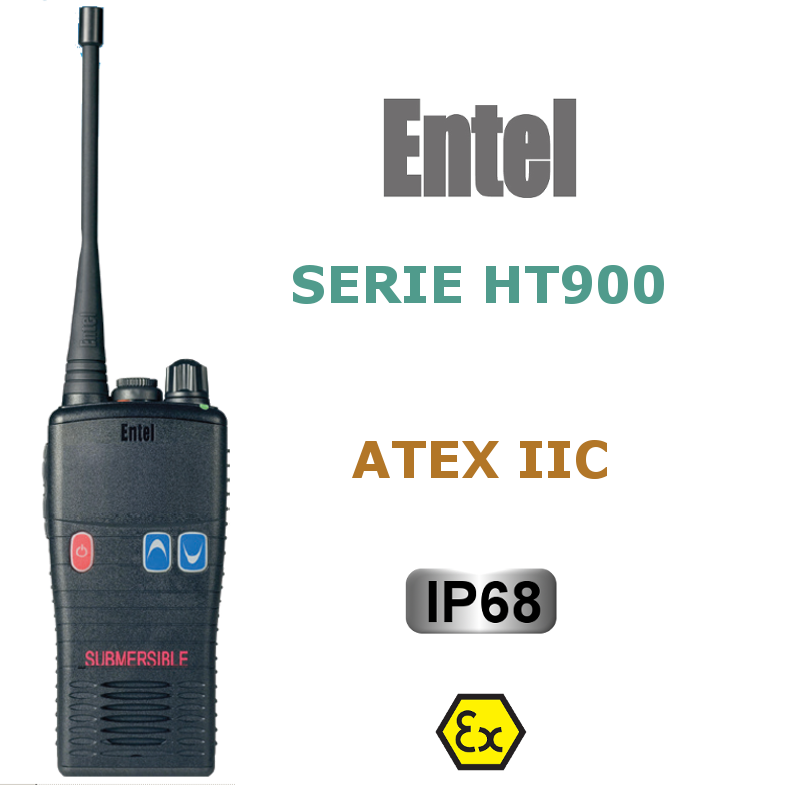 ENTEL SERIE HT900 ATEX